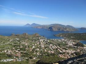The beautiful Aeolian Islands