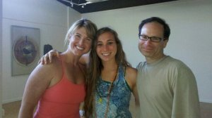 Graduating from my Vinyasa Flow Yoga teacher training, 2011.