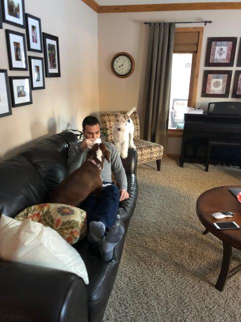 Lola Schroeder, Brandon's parents' dog
